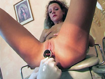 Scene maso chez gyneco sado